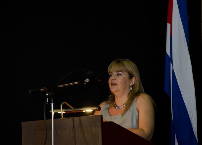 Magda Resik, Directora de Comunicación de la Oficina del Historiador / Fotos Alexis Rodríguez - HR