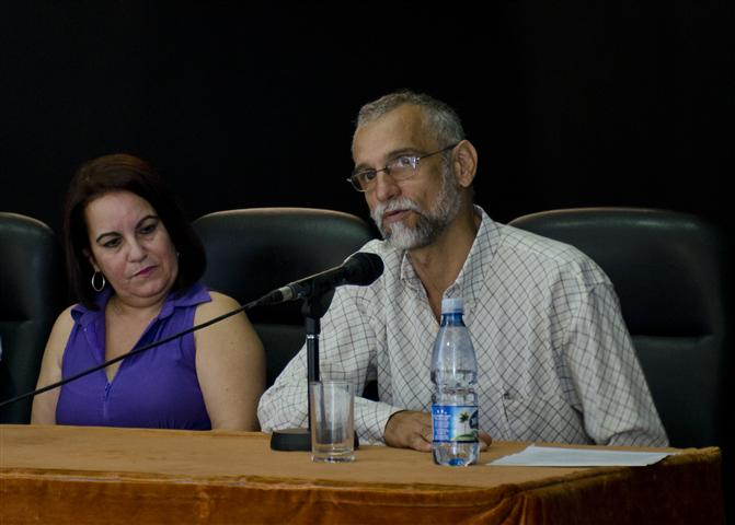 Ariel Terrero, Director del Instituto Internacional de Periodismo José Martí / Foto Alexis Rodríguez - HR