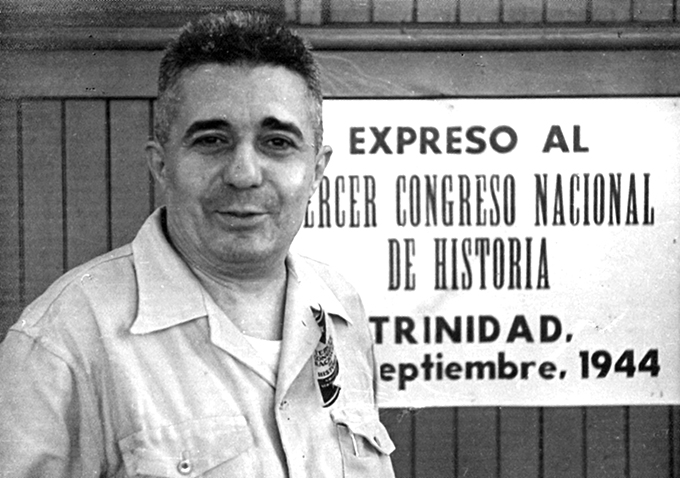 El prominente intelectual  Emilio Roig de Leuchsenring, quien fuera primer historiador de La Habana e incansable defensor del legado cultural cubano