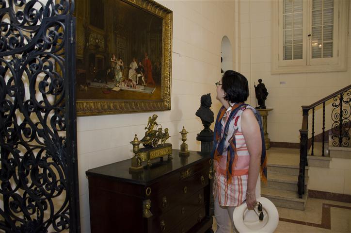 En el Museo Napoléonico