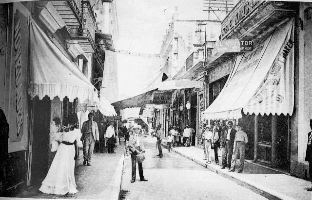 1-Calle Obispo (principios siglo XX)