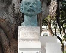 Monumento a Martí en Cádiz (España)