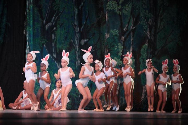 """Escena de """"Blancanieves y los siete enanitos"""""""