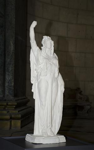 Boceto de la Estatua de la República