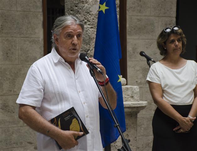 Hernán Portocarrero, Embajador de la Unión Europea en La Habana