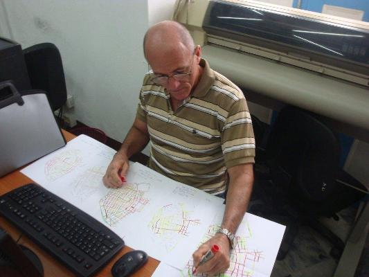 Ingeniero Raimundo de la Cruz Luzardo, especialista del Plan Maestro (Custom)