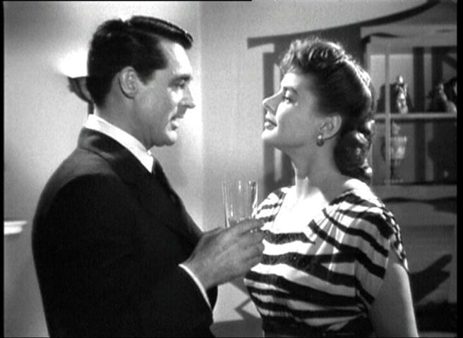 "Junto a Cary Grant en ""Notorious"""