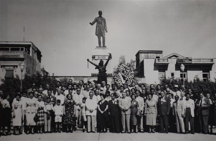 """Foto de la muestra """"Emilio Roig y los Congresos Nacionales de Historia"""""""