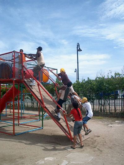 2. Parque infantil La Maestranza