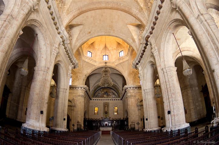 Interior de la Catedral de La Habana