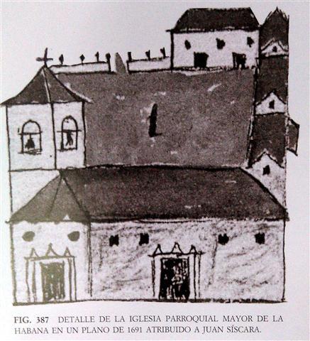 Dibujo de la Parroquial Mayor