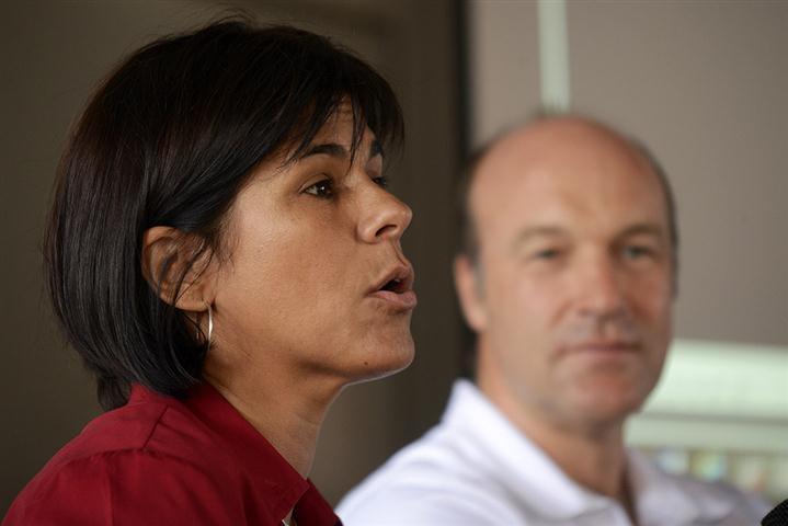 Tania Muñoz, encargada de prensa y relaciones públicas de la Embajada de Gran Bretaña en Cuba (Foto: Néstor Martí)