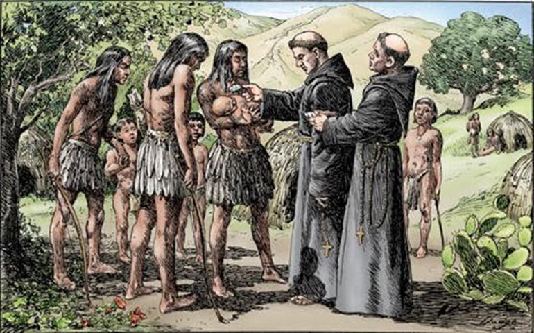 Evangelización de los indios