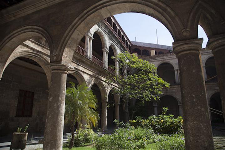 Patio del Centro Cultural Félix Varela