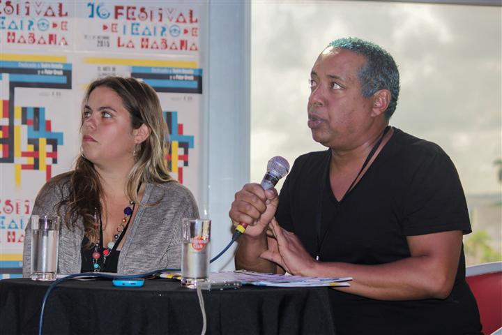 Noel Bonilla, Comisionado Artístico del Consejo Nacional de las Artes Escénicas