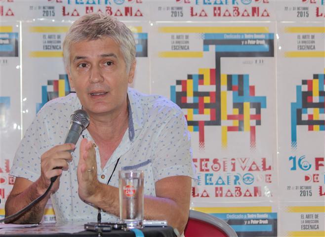 Carlos Celdrán, Director Artístico de la décimosexta edición del Festival de Teatro