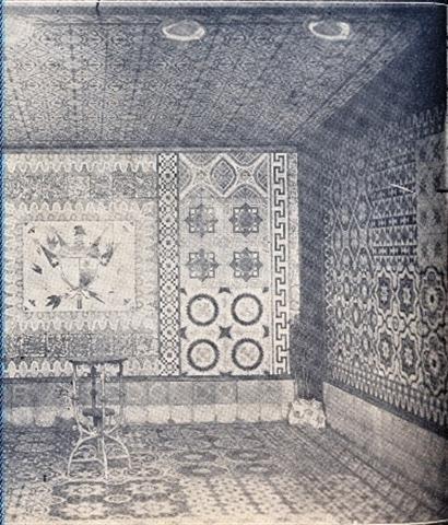 Muestrario de la fábrica de mosaicos La Balear. Exposición Agrícola e Industrial de Palatino, 1909 01 (Small)