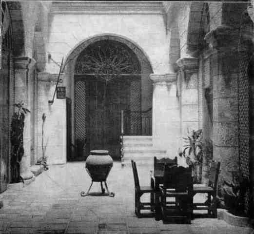 Patio interior, década de 1940 02