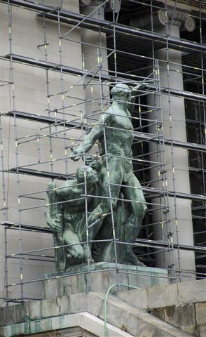 estatuas de la escalinata