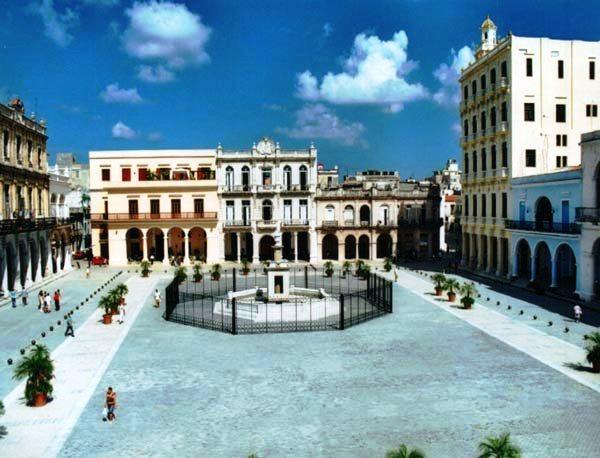 La Plaza Vieja, hoy