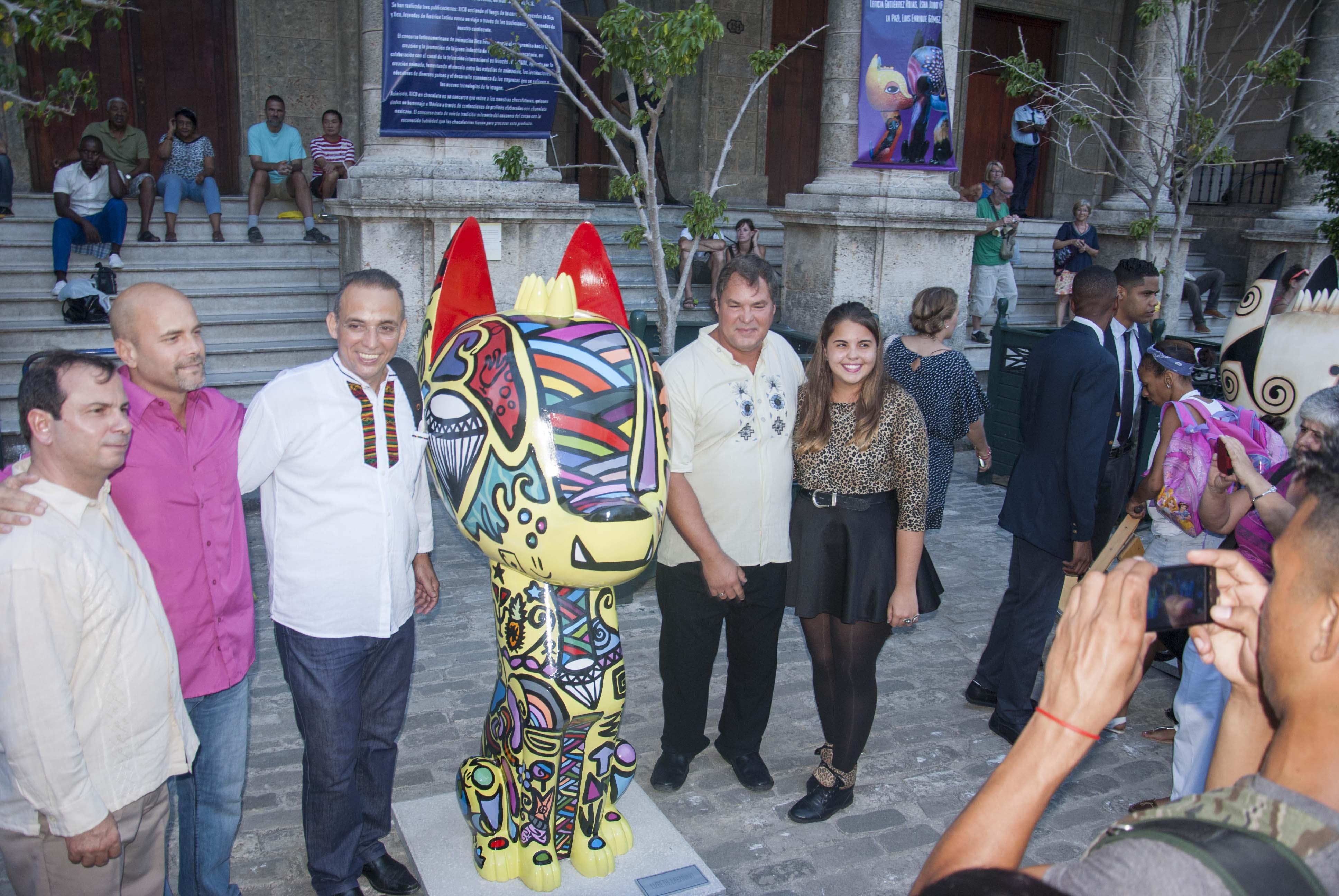 """Nuestros cinco Héroes en la jornada inaugural de """"Travesías de Xico"""""""
