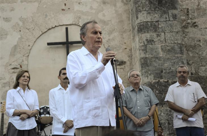 El embajador de México en Cuba, Excelentísimo Señor Juan José Breme