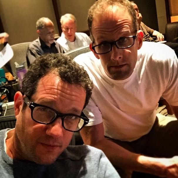 """Michael Giacchino también estuvo a cargo de la grabación de la música de """"Inside Out"""", último filme de Pete Docter"""