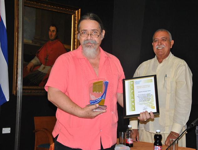 Roberto Arango, Premio Nacional de Filatelia