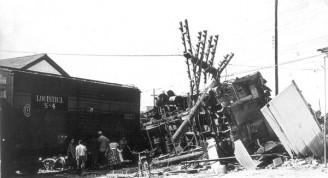 El tren blindado de Santa Clara después del ataque