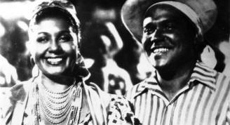 """Rita Montaner y Oscar López en el filme """"María la O"""""""
