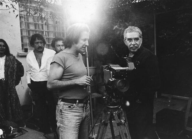 Ruy Guerra con Gabriel García Márquez
