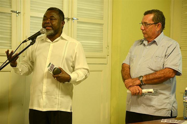 El Excelentísimo Señor Miguel Costa Mkaima, embajador de Mozambique en Cuba
