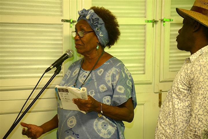 """Mirta Portillo, directora del IX Encuentro de Oralidad """"Festival Afropalabra 2015"""""""