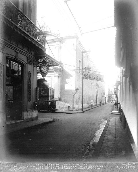 2-Calle Teniente Rey y Compostela, 1929