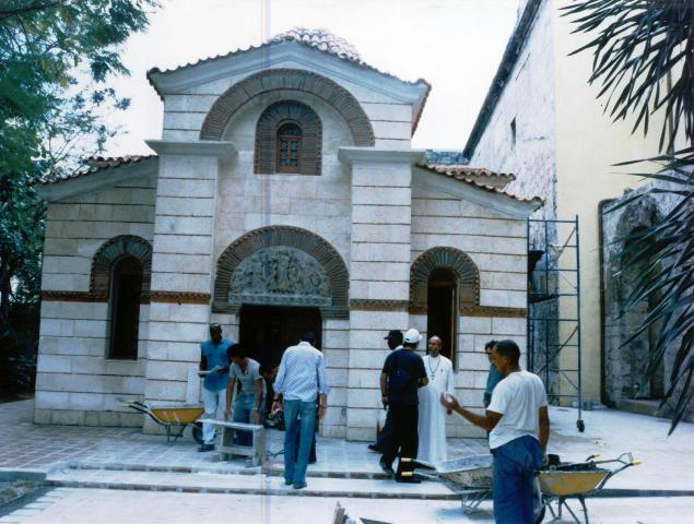2-iglesia ortodoxa en obras, 2003