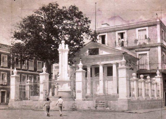 Templete, mediados del XX