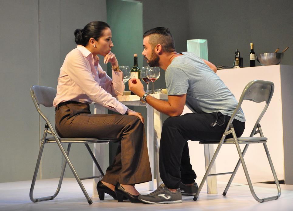 Escena de Mecánica (Foto Argos Teatro).