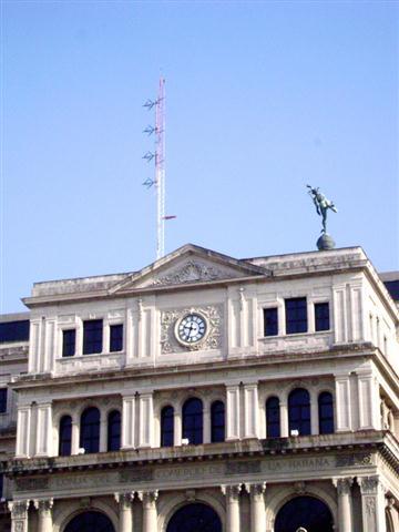Habana Radio, antena (Foto: Alexis Rodríguez)