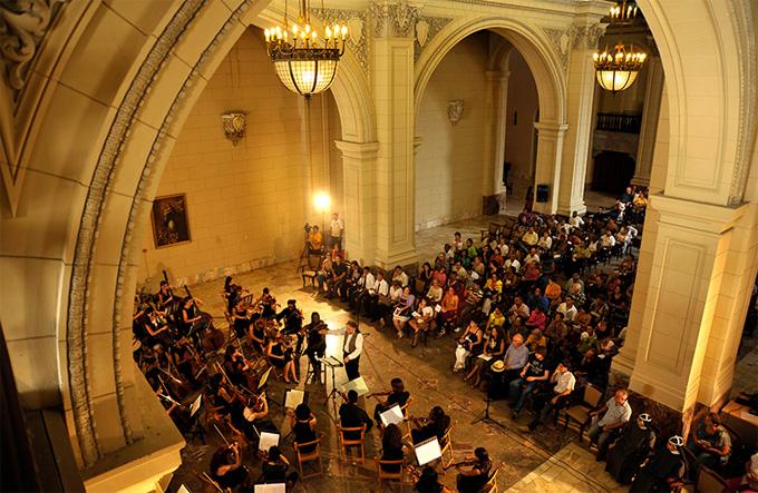 Orquesta Lyceum. Foto: Néstor Martí