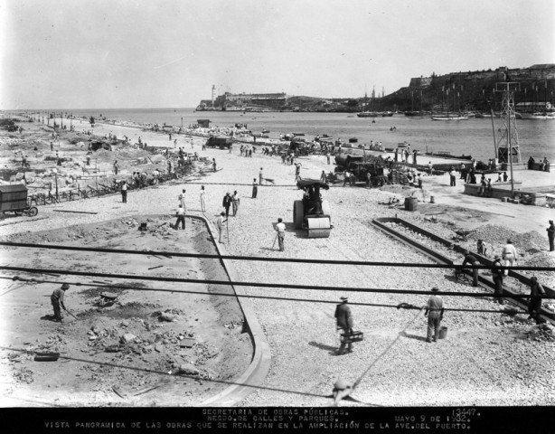 Ampliación Avenida del Puerto-San Pedro 1932