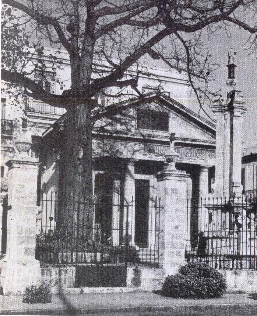 La ceiba del Templete, 1975