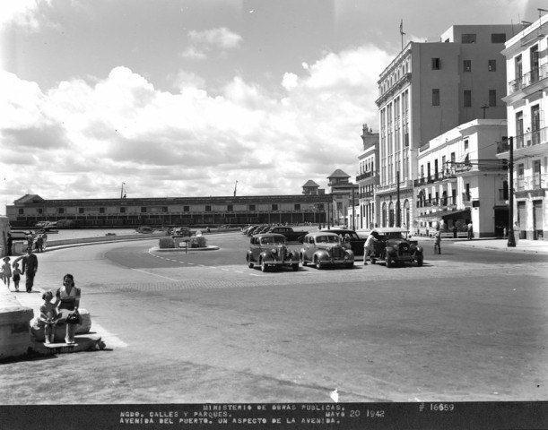 Avenida del Puerto-San Pedro,1942