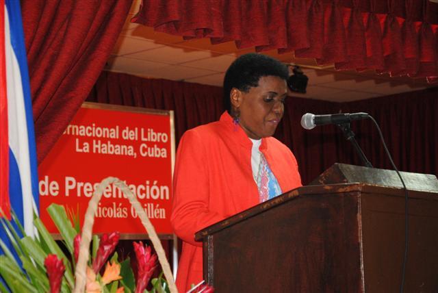 Zuleica Romay Guerra, Presidenta del Instituto Cubano del Libro