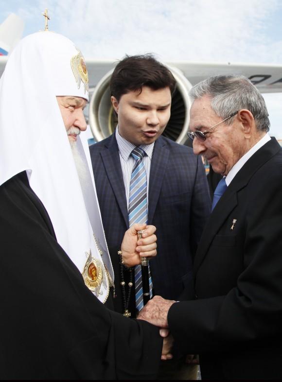 Durante su intervención Kirill resaltó los lazos históricos de amistad entre ambos países. Foto: Ismael Francisco. / Cubadebate