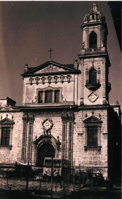 Iglesia de San Francisco, calle Cuba