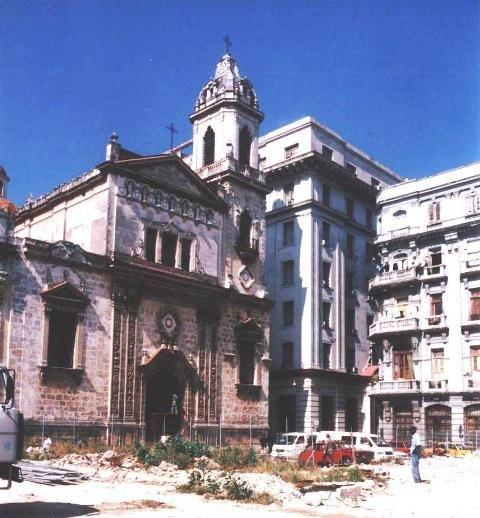 Iglesia de San Francisco, antes de la restauración