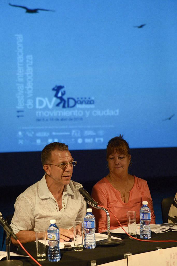 Momentos de la conferencia de prensa. Foto: Néstor Martí