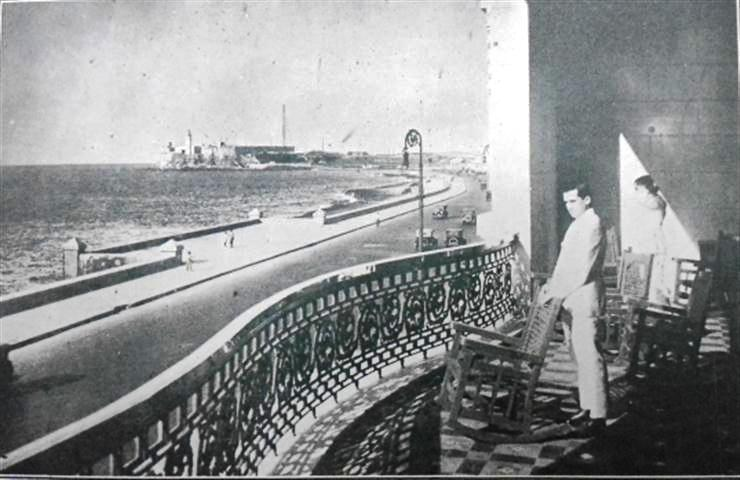 Detalle de la terraza, 1925
