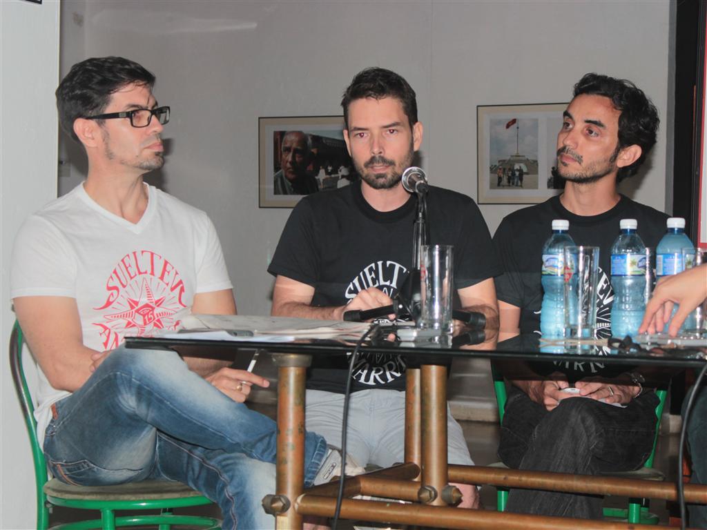 El joven cineasta y miembro del comité organizador de la Muestra Joven, Juan Carlos Calahorra