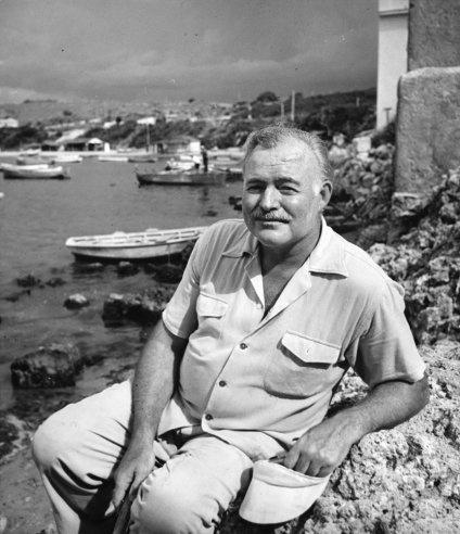 Ernest Hemingway , 1952